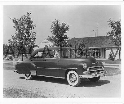 1951 Chevrolet Deluxe Styleline four door Sedan Factory Photo Ref. # 31402