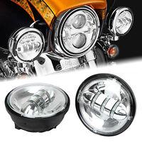4.5 Led Passing Lights Bulbs For Harley Davidson Road King Flhr Custom Classic