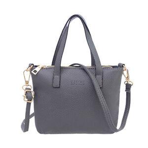 d1199898c5f1 Image is loading Fashion-Women-Handbag-Leather-Messenger-Shoulder-Bag-Large-