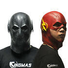Halloween The Flash Mask Movie Cosplay Costume Prop Full Head Latex Party Masks