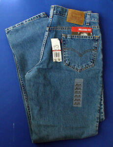 Levi-Struass-JEANS-Mens-550-RELAXED-FIT-Denim-Size-36-X-32-NEW-with-TAGS