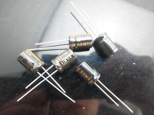 Japon 2PCS Elna RFS Silmic II 47uf 25 V plus AUDIO condensateur nouveau À faire soi-même HiFi