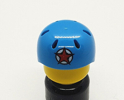 LEGO-MINIFIGURES SERIES X 1 HELMET FOR THE ROLLER DERBY GIRL SERIES 9 PARTS 9