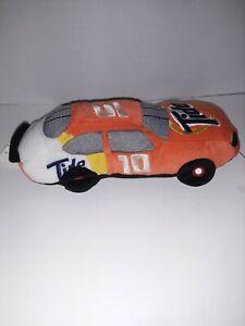 "NASCAR Beanie Plush Racers Car #10 8"" Tide Ricky Rudd Soft Stuffed (MB)"