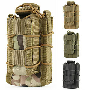 Tactical-Nylon-Molle-Double-Pockets-Open-Top-Pistol-Magazine-Mag-Pouch-Bags