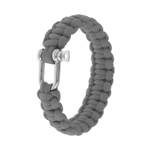 Paracord Bracelet Essential Gear for Outdoor Adventure /& Your Emergency Kit