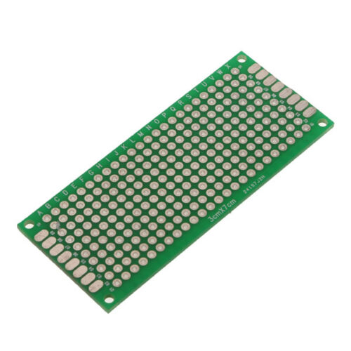 Double-Side Prototype FR-4 PCB Stripboard Universal Printed Circuit Board 8 Size