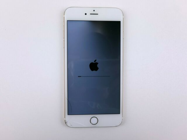 Apple iPhone 6s Plus (A1634) 16GB - Gold (AT&T) Cracked *READ* Clean IMEI K1396
