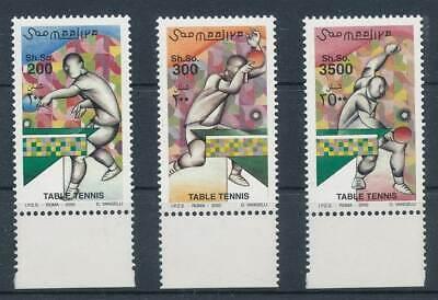 Gastfreundlich 282494) Somalia Nr.836-8** Tischtennis