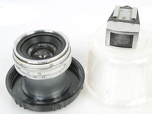 Zeiss-Contarex-Biogon-4-5-21-21mm-1-4-5-Sucher-Plexidose-Zubehoerpaket-schoen