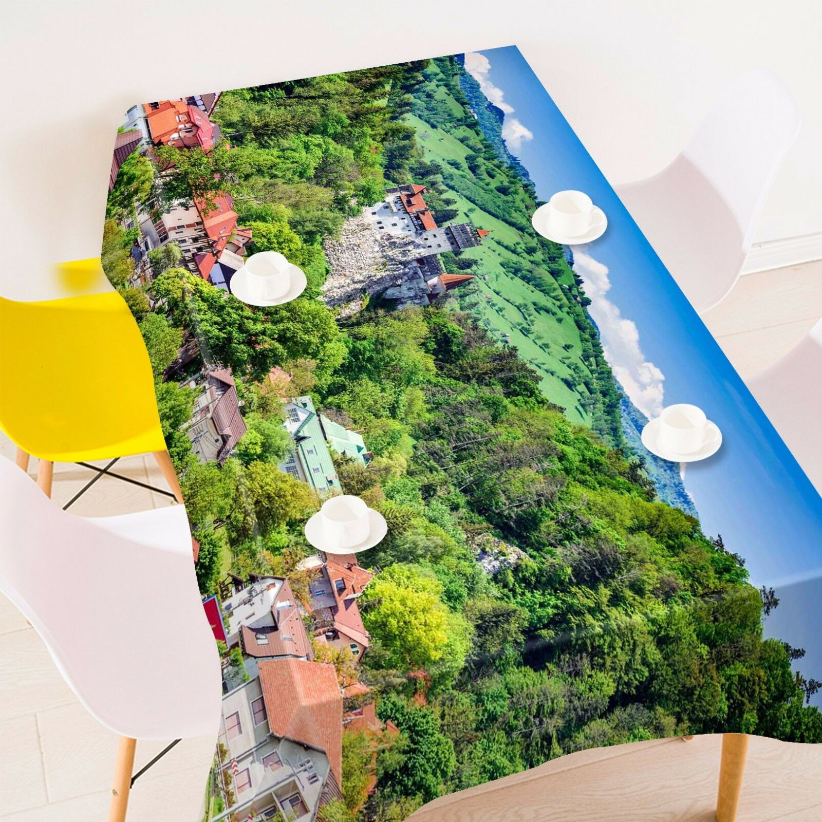 3D Forest 8087 8087 8087 Tablecloth Table Cover Cloth Birthday Party Event AJ WALLPAPER UK 0fa474