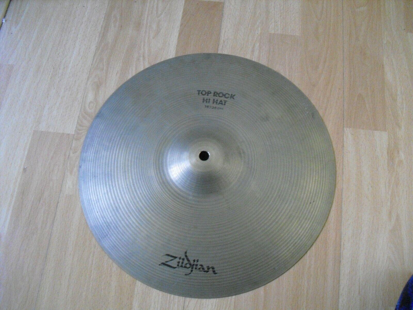 14  80s pre serial Avedis Zildjian Rock HiHat Hi Hat Top 1290g