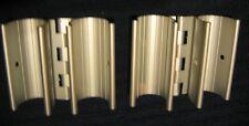 ALUMINUM SNAP HINGE for 3/4in PVC PIPE - 2PK for PVC Frames, Doors #252