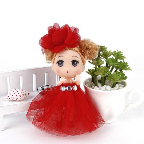 12cm Mini Ddung Doll Cute Toy Confused Doll Key Chain Phone Pendant Ornament JB