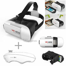 3D VR Glasses BOX Virtual Reality Headset Bluetooth Remote Control iPhone 7 Plus
