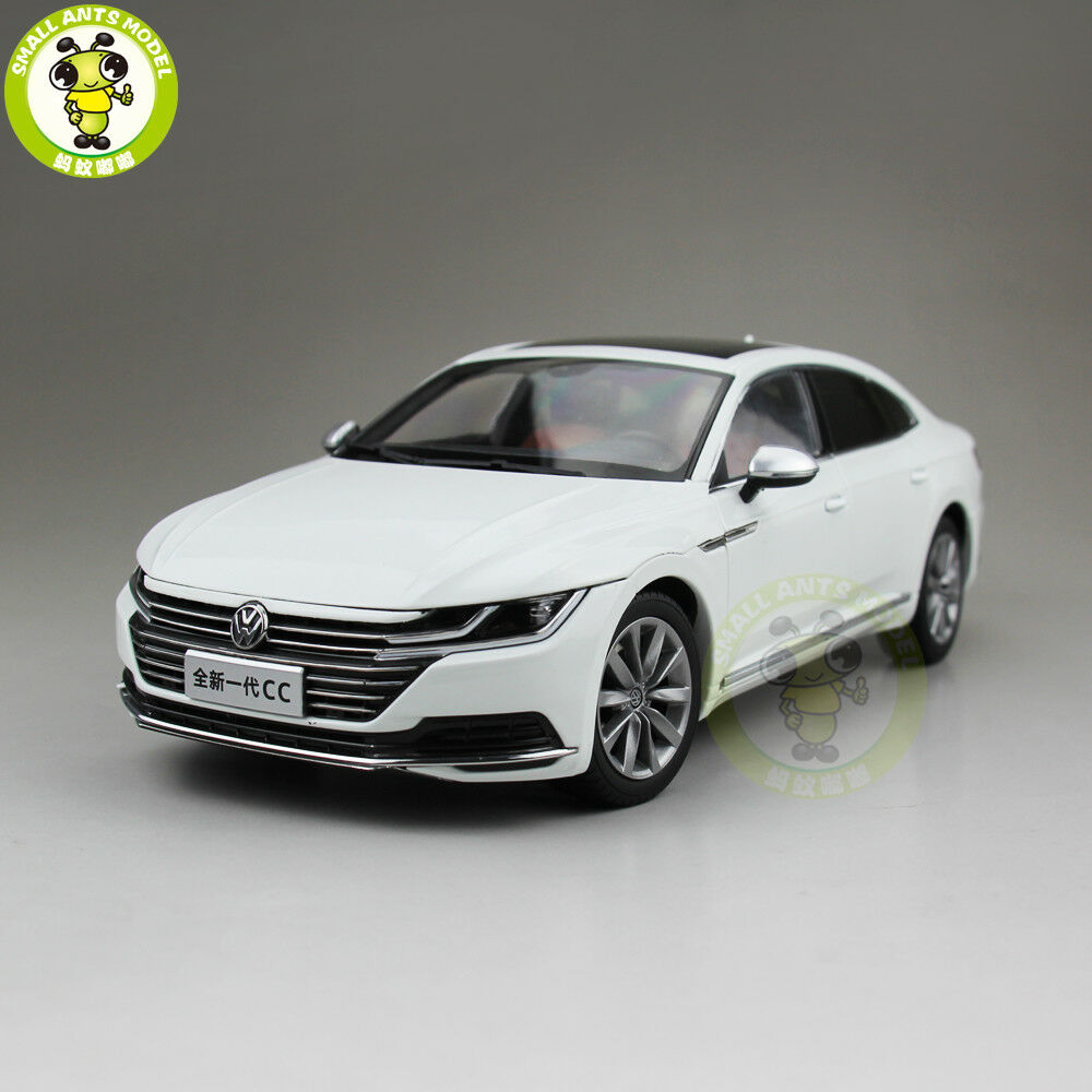 1 18 VW  volkswagen nouveau CC Diecast modèle de voiture jouets enfants garçon fille Cadeau Blanc  beaucoup de surprises