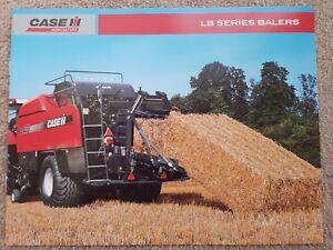 Case/ih Lb Series Botteleuse Sales Brochure-afficher Le Titre D'origine