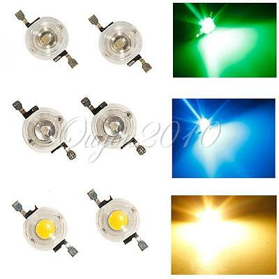 1W High Power LED Chip SMD Energiespar Hochleistung Lampe Licht Leuchte Strahler