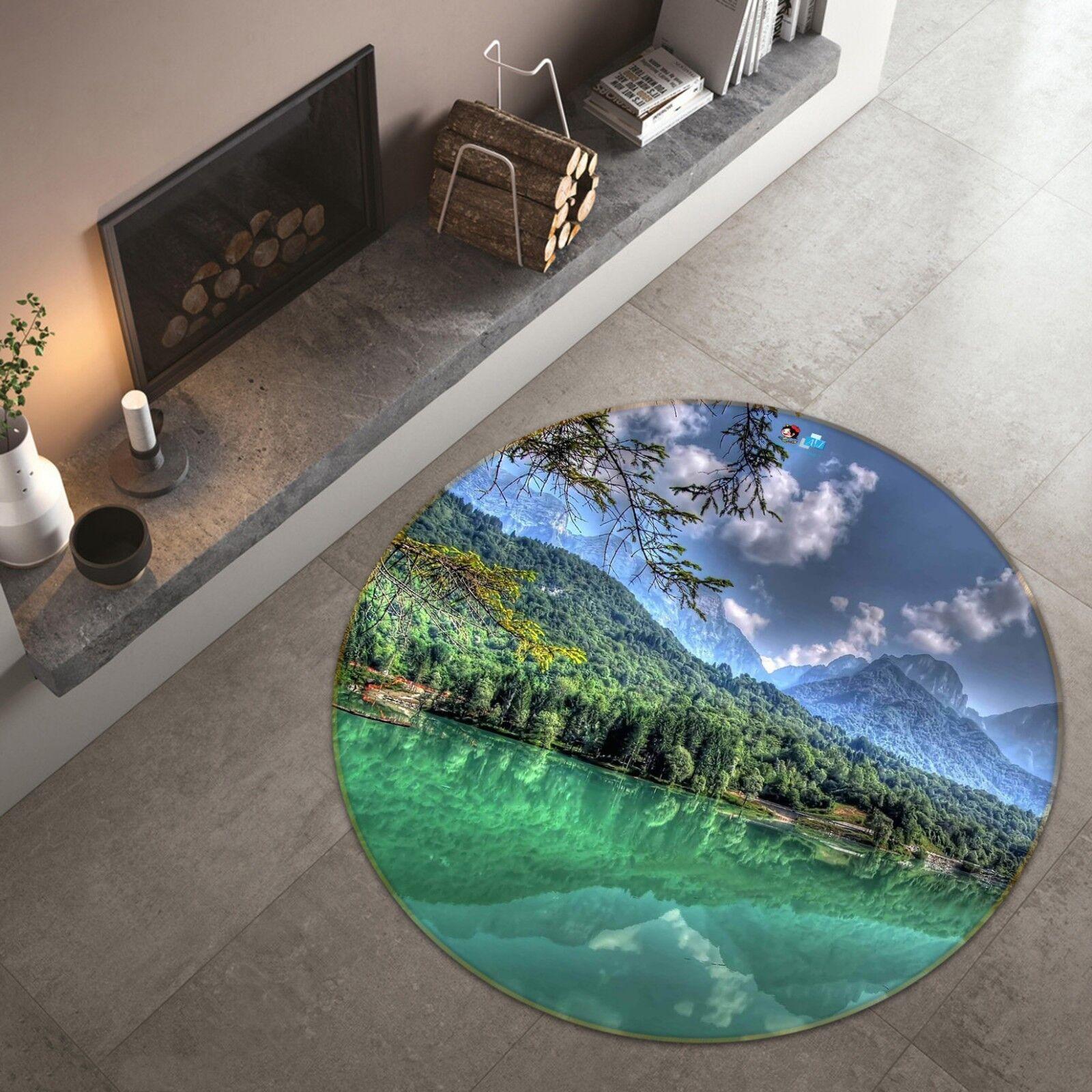 3D Natur Natur Natur Landschaft 5 Rutschfest Teppich Matte Raum Matte Runden Elegant Teppich 0e4cd2