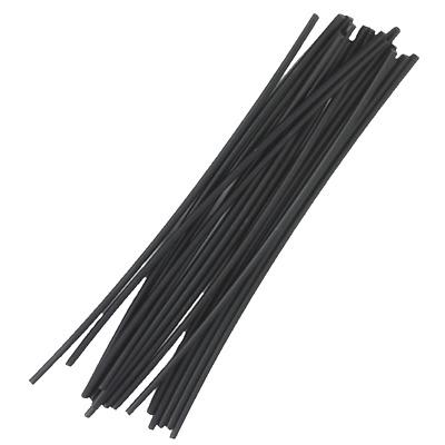 16 pieces Steinel 110048753 HDPE Plastic Welding Rods Black
