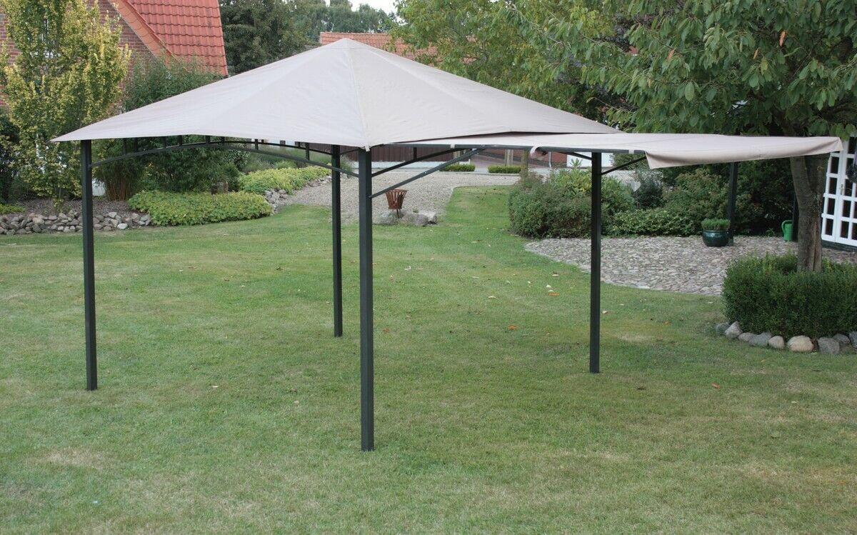 Cenador 300x300x290cm umbria antracita gris claro Cochepa para fiestas Cochepa de jardín jardín Cochepa