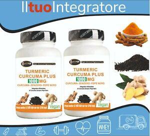 Turmeric-1000-Curcuma-Pepe-Nero-zenzero-2-box-da-60-cpr-Curcumina-Piperina