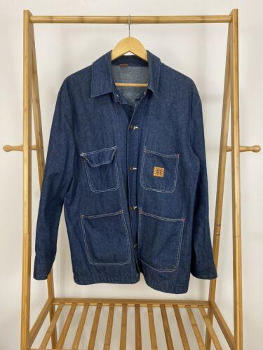 VTG Big Ben Men's Unlined Denim Chore Barn Jacket