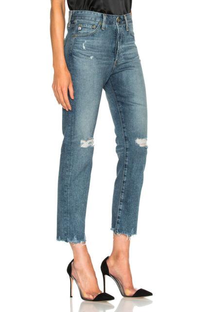 AG Adriano Goldschmied Womens Sloan Vintage Straight Leg Jean