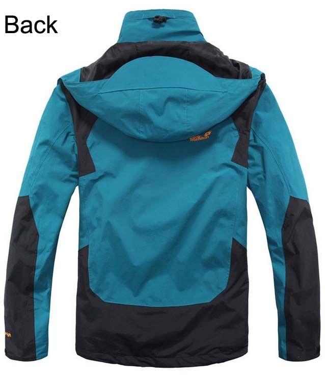 3in1 LINEA UOMO IMPERMEABILI ANTIVENTO Eskimo arrampicata sci sci sci giacca e fodera con cappuccio Cappotto 3e295b