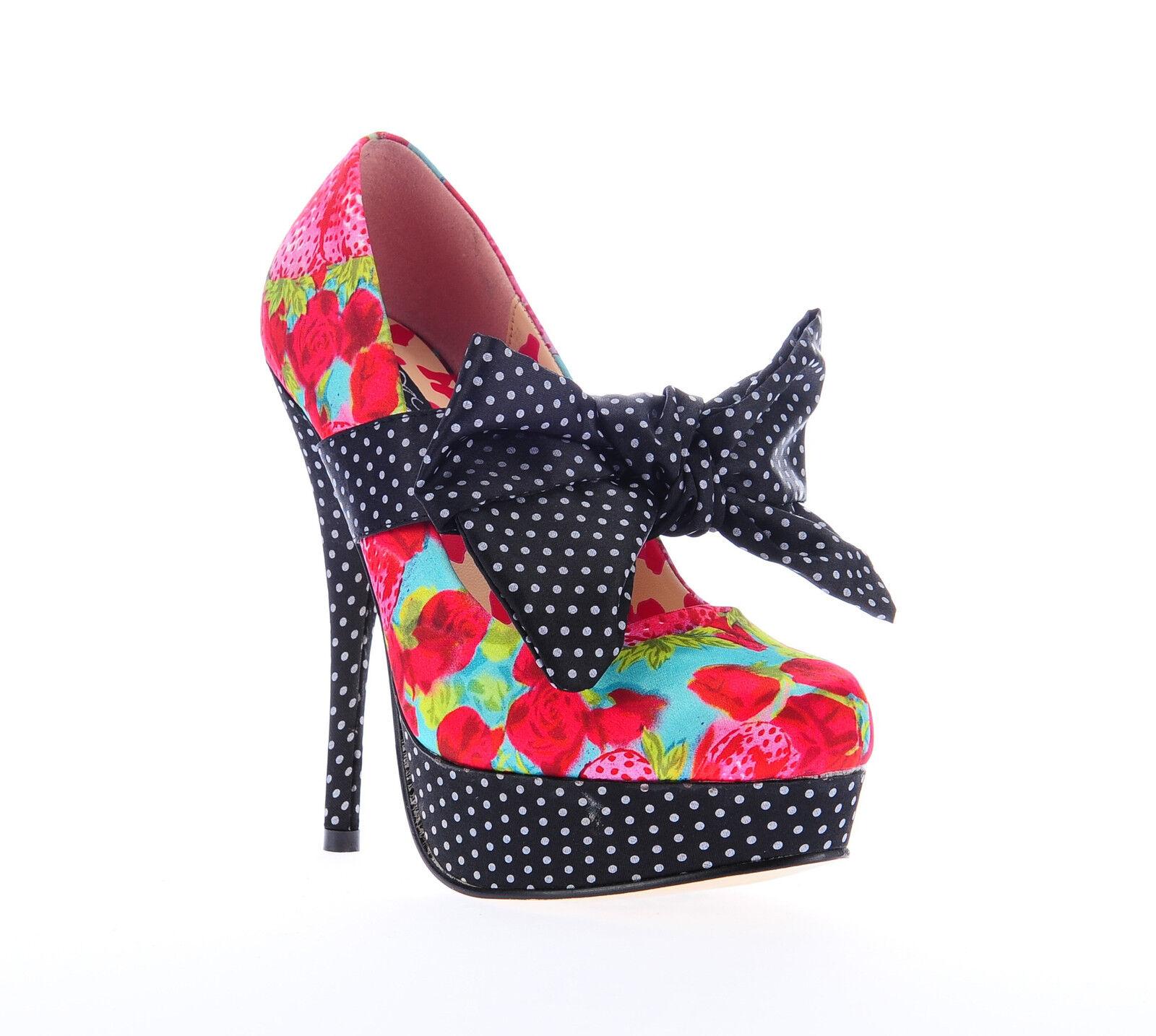 IRON FIST Schuhe Pumps Indecent Obsession Platform Girls - Größe wählbar