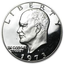 1973-S Eisenhower Dollar 40% Silver - Gem Proof