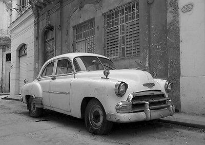 Cuba Havana Street Car Original Poster Print A4 *DISCOUNTED OFFERS* A3