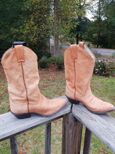 Womens Larry Mahan Western Boots Sz 9