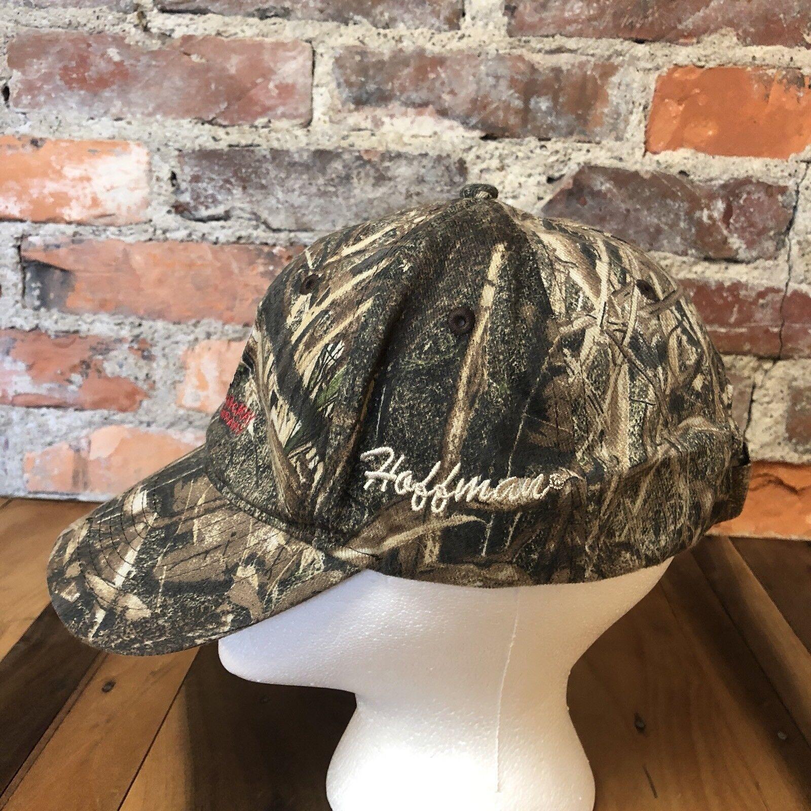 8d8f2c8424a ... VTG Camouflage Hat McNaughton-McKay Electric Company Mossy Oak Oak Oak  Duck Blind Camo 7 ...
