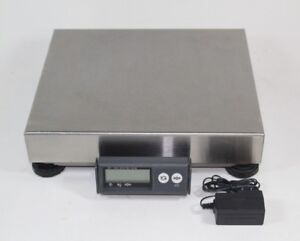 Mettler-Toledo-PS60-Shipping-Parcel-Scale-150lb-x-0-05lb-RS232-NO-USB-Steel