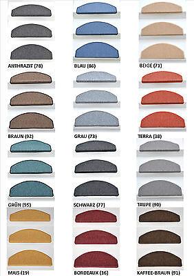 Stufenmatte Stufenmatten Treppenmatten  ROCKY Mais-Gelb 65 x 24 x 4 cm ca 19