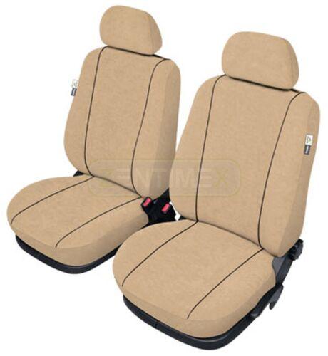 Sitzbezüge camel hell braun//beige vorne CAM OPEL ASTRA CLASSIC F