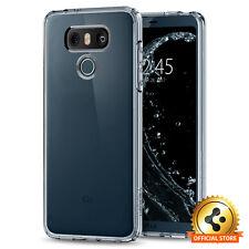 Spigen® For LG G6 [Ultra Hybrid] Shockproof Bumper Clear Back TPU Case Cover