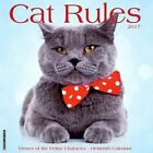 2017 Cat Rules Wall Calendar by Willow Creek Press
