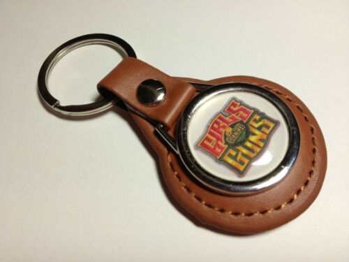 MORE AIRGUN BLACK//TAN LEATHER KEY RINGS 56 DESIGNS` BSA AIR ARMS,WEBLEY