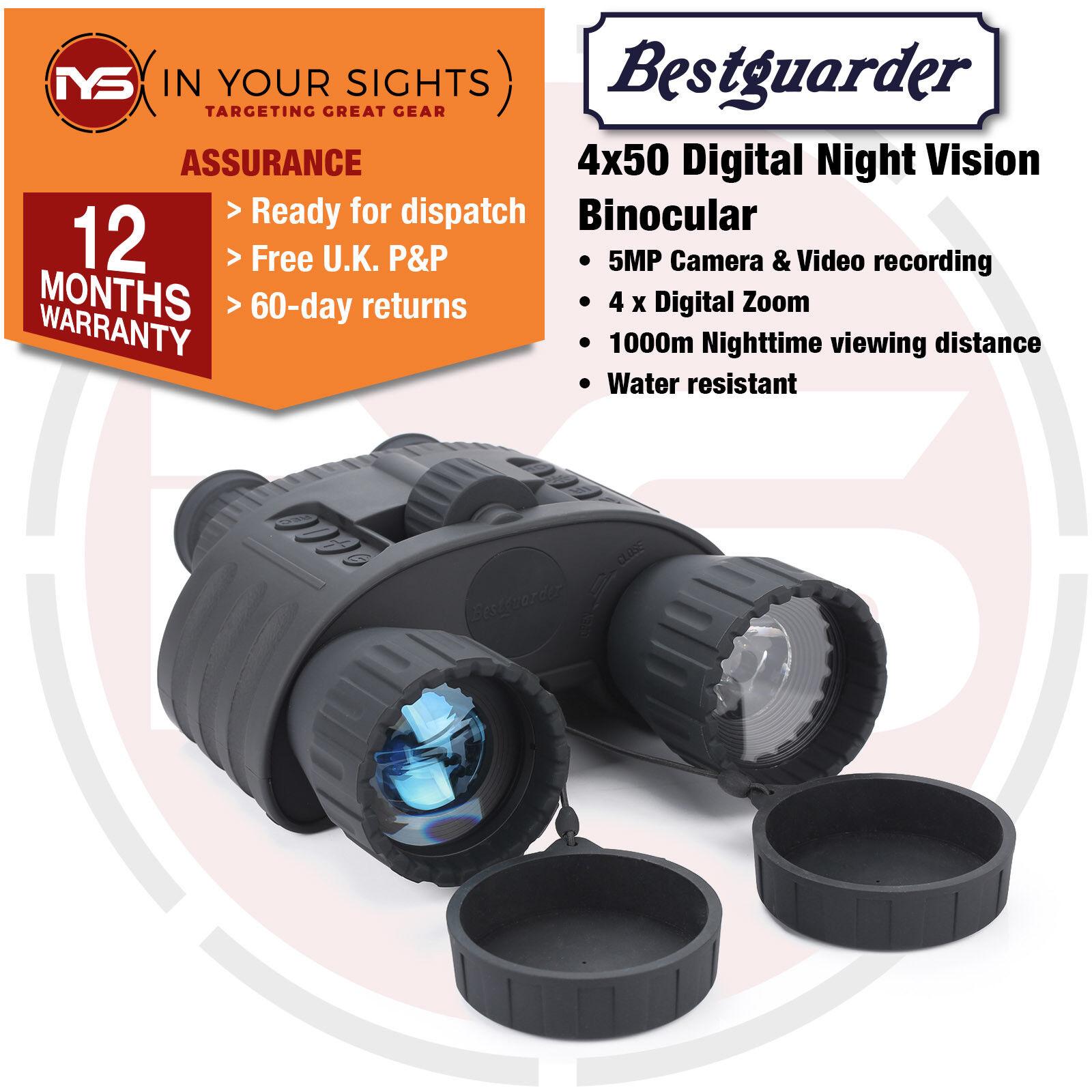 4-20x50 Digital Night Vision Binoculars   Night time surveillance binoculars