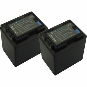 2x Batería 4450mAh para Canon Legria HF R38//HF R66//HF R46