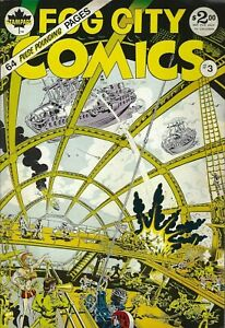 RAND-HOLMES-GEORGE-METZGER-FOG-CITY-COMICS-3-1979-SCIENCE-FANTASY-AT-ITS-FINEST