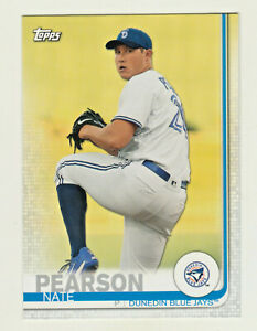 2019 Topps Pro Debut #151 NATE PEARSON RC Rookie Toronto Blue Jays QTY AVAILABLE