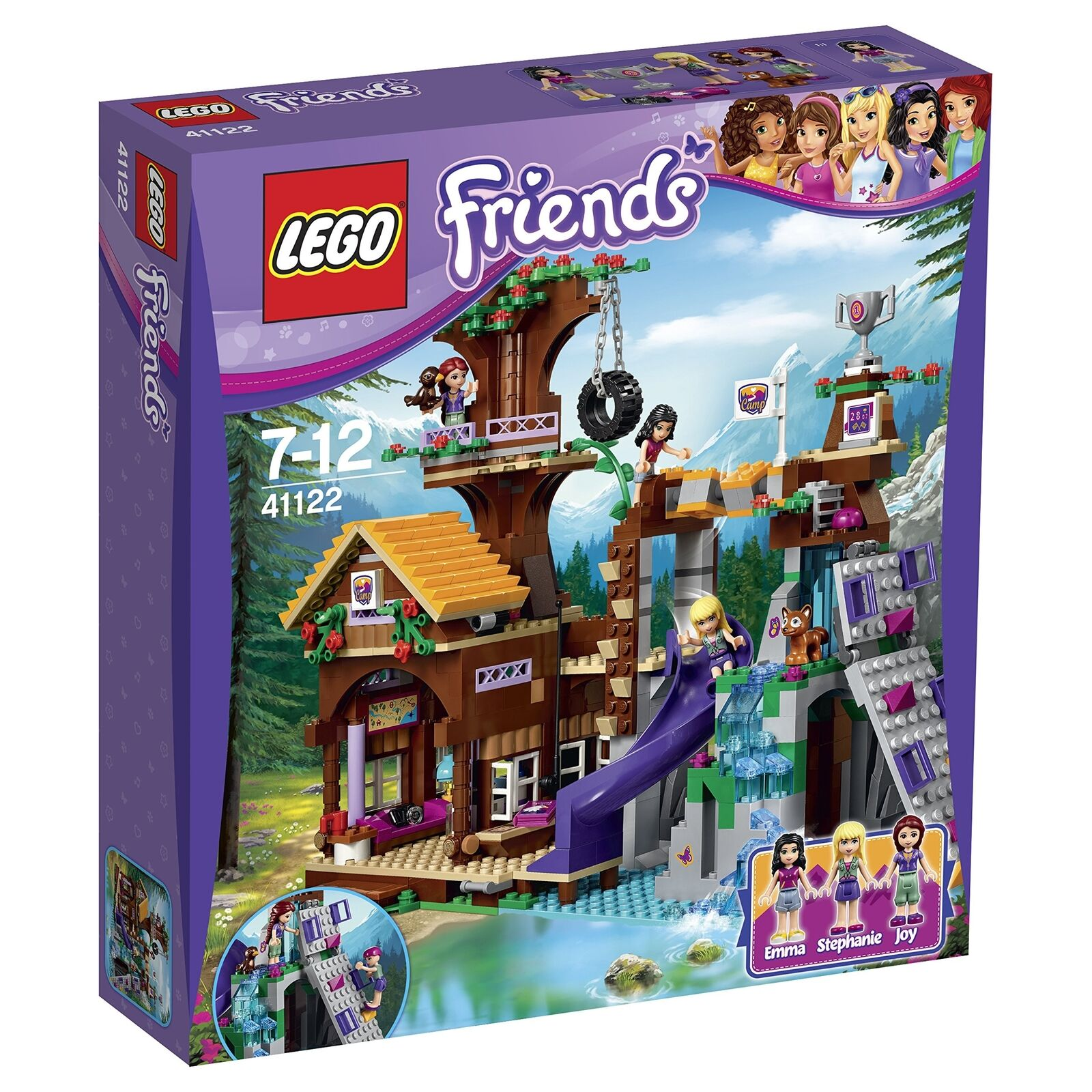 LEGO 41122 Friends Adventure Camp Tree House