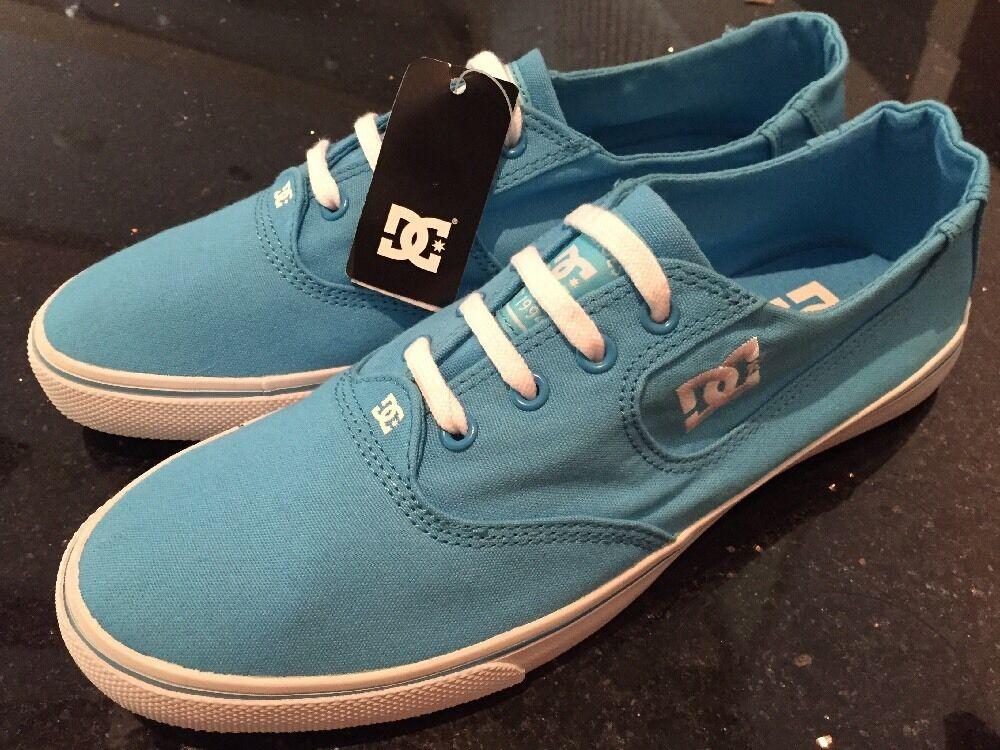 DC Women's Turquoise Flash Fashion Walking Sneaker Size 9