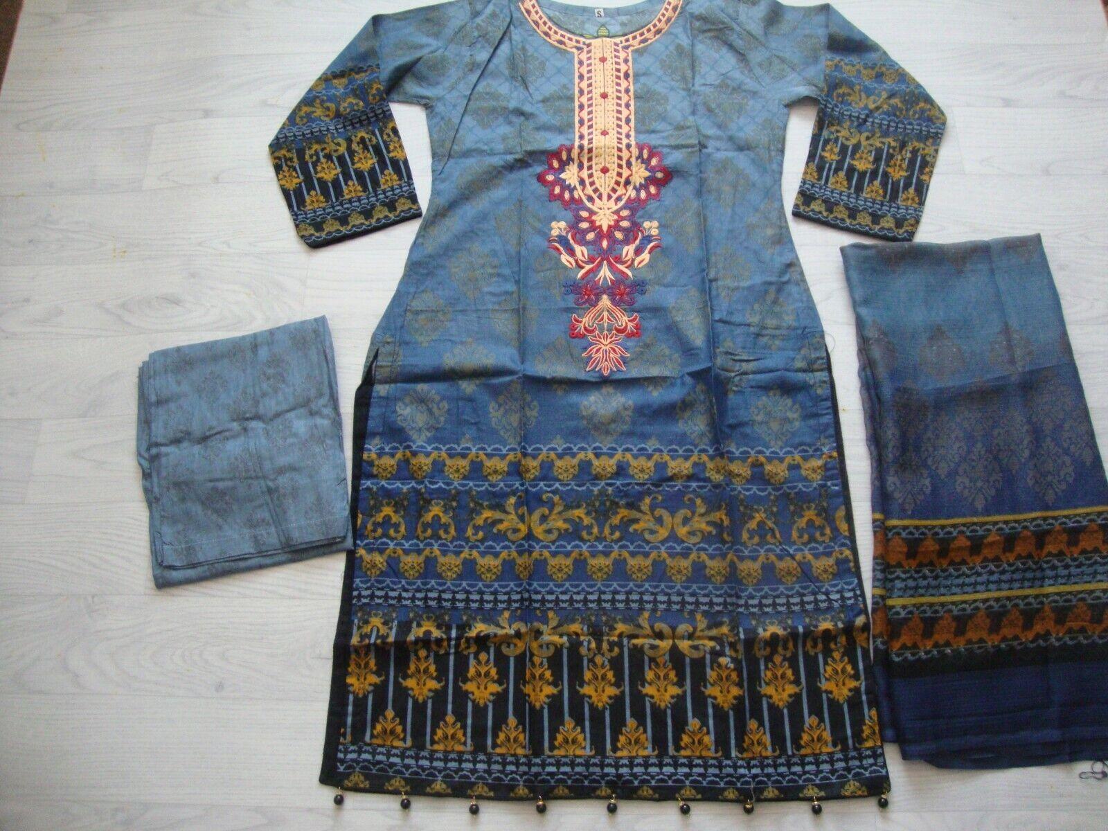 Mohagni lawn design Embroidered stitched salwar kameez summer for only