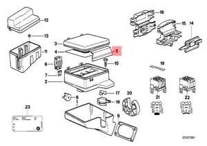 image is loading genuine-bmw-e32-e34-estate-saloon-fuse-box-