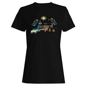 Nativity-Scene-Ladies-T-shirt-Tank-Top-t684f