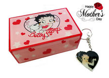 Betty Boop Mothers Day gift - Betty Boop Music Box and Keyring